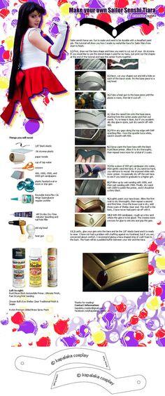 Sailor Senshi Tiara tutorial Credits to the owner (c)