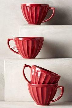 Anthropologie Latte Mugs #anthrofave