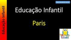 Educação Infantil - Nível 4 (crianças entre 7 a 9 anos): Paris