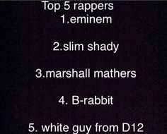 Top 5 best rappers