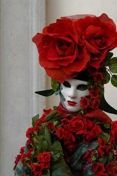 Venetian carnival masks...