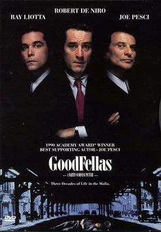 Goodfellas - Drei Jahrzehnte in der Mafia * IMDb Rating: * 1990 USA * Darsteller: Robert De Niro, Ray Liotta, Joe Pesci, Ray Liotta, Martin Scorsese, See Movie, Movie Tv, Goodfellas Movie, Vintage Cartoons, Gangster Movies, Action Movies, Robert De Niro