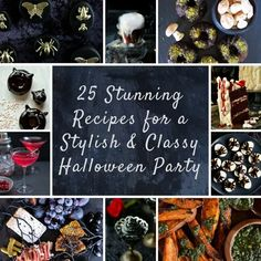 25 Stunning Recipes For A Stylish And Classy Halloween Party dinner party 25 Stunning Recipes For A Stylish And Classy Halloween Party Vampire Halloween Party, Halloween Party Themes, Halloween Food For Party, Halloween Food For Adults, Witch Party, Creepy Halloween Food, Classy Halloween Decorations, Vampire Theme Party, Hallowen Party