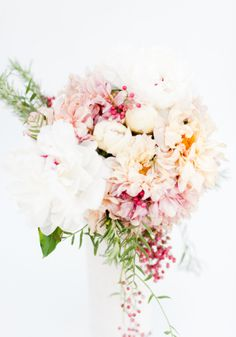 These gorgeous flowers would make for a fabulous bouquet.