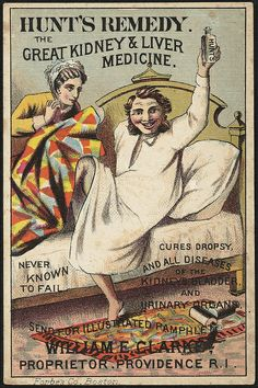 Hunt's Remedy - the great kidney & liver medicine. Never known to fail (front) | Flickr - Photo Sharing!