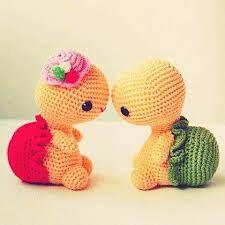 tartarugas boy and girl soo cute