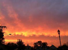 Sunrise Over Farmingdale