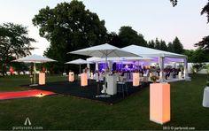 De middag gaat langzaam over in de avond #event #verhuur #bruiloft