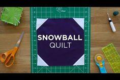 Make an Easy Snowball Quilt Block - Quilt Snips! (Missouri Star Quilt Company…