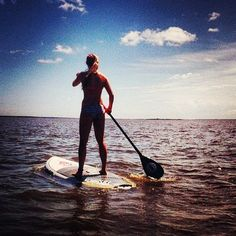 Paddle Boarding.. I want to try this SO MUCH!