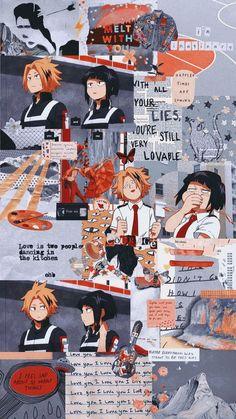 Boku no Hero Academia Wallpaper My Hero Academia Memes, Hero Academia Characters, My Hero Academia Manga, Boku No Hero Academia, Anime Characters, Cute Anime Wallpaper, Hero Wallpaper, Aesthetic Iphone Wallpaper, Aesthetic Wallpapers
