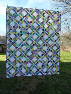 Blueberry Patch: Crocus and Spring, design;?Trellis Crossroads from the book Modern Bee by Lindsay Conner