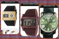 3 very cool watches