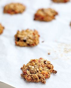 When mixed with oats, nuts, dried fruit, and honey, these amaranth cookies make for a tasty snack.