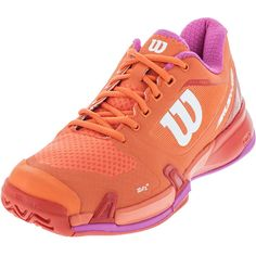 d2be5e90a934 The Wilson Women s Rush Pro 2.5 Tennis Shoes are crafted to provide awesome  acceleration