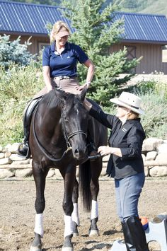 The new Advanced Rider Biomechanics DVD set with Linda Parelli and Colleen Kelly is getting ready to be released!