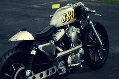 Harley-Davidson Sportster Café Racer - Silodrome