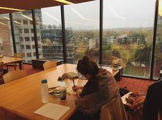 Картинка с тегом «girl, study, and studying»