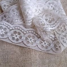 1.84 yards Vintage white Lace (1970s),  Craft Supplies Tools, Sewing Needlecraft Supplies, Trim & Tapes, Accessories, Vintage lace, MyWealth by MyWealth on Etsy