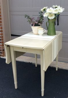 Kitchen Drop leaf Table / Sideboard by relovedbylori on Etsy, $345.00