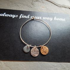 Always Find Your Way Home wax seal charms by gildedlilycharms