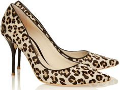 London's fashion favourite shoe designer Sophia Webster today launched an exclusive collection of pumps for luxury online retailer net-a-porter.com.