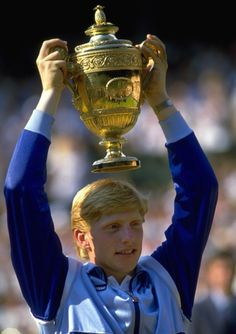 I watched Boris Becker play in the world Junior Boys Open in Birmingham for U18s when he was just 14. He boomed them all off the court and won Wimbledon just over two years later at 17. Old head on young shoulders and physically knew how to impose his game on opponents. Very tough mentally - underated.
