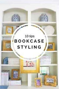 10 Tips : How To Style Bookshelves | eBay