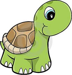 Photo about Wild Cute Safari turtle Vector Illustration. Illustration of isolated, green, spots - 9631748 Clipart Baby, Cute Clipart, Vector Clipart, Clipart Images, Baby Animals, Cute Animals, Cute Turtles, Turtles Candy, Baby Turtles