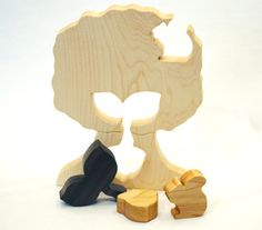 Acorn, Sapling, Tree: a Wooden Puzzle