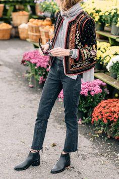 : Schmücken Sie Ihre Essentials mit Over-the-Top-Oberbekleidung Looks Street Style, Looks Style, Style Me, Look Fashion, Fashion Outfits, Fashion Trends, Fashion Mode, Fall Fashion, Lifestyle Fashion