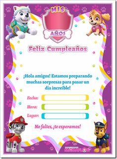 Sky Paw Patrol, Paw Patrol Party, Dog Birthday, Birthday Parties, Minecraft Party, Baby Shower, Cards, Pink, Instagram