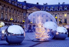 Christmas Place Vendome My French Life Copyright by Carla Coulson