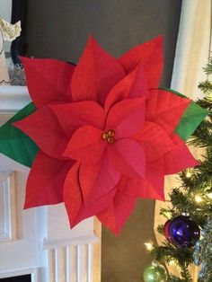 Diy wall decorations how to make paper flowers christmas similar ideas mightylinksfo