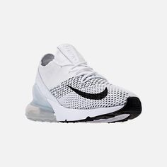 check out 3b531 40642 Three Quarter view of Women s Nike Air Max 270 Flyknit Casual Shoes Nike  Air Max For