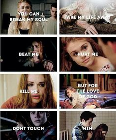 Lydia can't even remember Stiles now! I can't be okay with this! My heart is breaking with every beat
