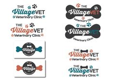 Veterinary Clinic in the red rock desert looking for a fun, appealing, memorable logo/sign by Ani12