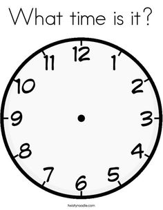 Printable Clock Face with Hands. 25 Printable Clock Face with Hands. Printable Clock Print Free Clock with No Hands Clock Clipart, 1 Clipart, Clipart Images, Hd Images, Clock Template, Face Template, Blank Clock Faces, Clock Worksheets, Clock Face Printable
