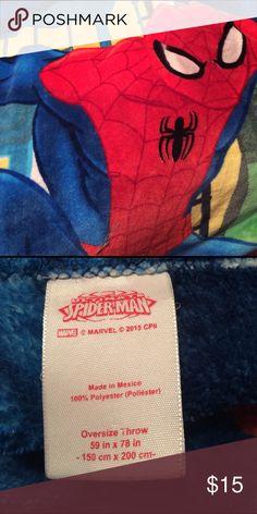 Spider-man Oversized Fleece Throw Spider-man Oversized Fleece Throw Spiderman Other