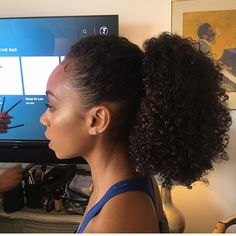 Long Black Hair, Long Curly Hair, Curly Hair Styles, Natural Hair Styles, Curly Ponytail, Curly Girl, Afro, Hair Shrinkage, Biracial Hair