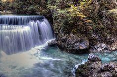 Vintgar Gorge Falls, Slovenia