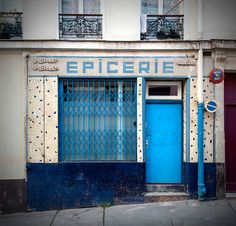 Rue des Chaufourniers, Paris 19e. Février 2016. Retrouvez également Pixdar sur Facebook.