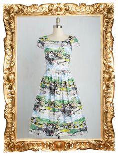 Unmatched Panache Dress in Coastal Village - $109.99