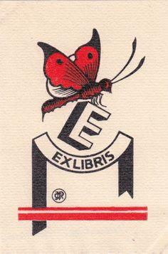 Ex libris by Claude Jeanneret (1886-1979) - 1928