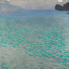 Attersee 1900 Gustav Klimt