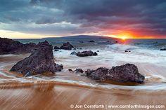Poolenalena Beach Sunset