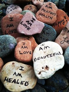 Thoughtrocks.net   Write a positive affirmation on a rock you find, and leave it for someone else to find. The power of positivity! Include the website on your rock, and stories about the rocks are shared around the world!