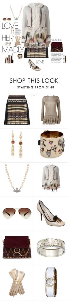 """""""Art Deco"""" by mbarbosa ❤ liked on Polyvore featuring Etro, Valentino, Ross-Simons, Alexis Bittar, Vivienne Westwood, Bazar Deluxe, Ray-Ban, Louis Vuitton, Chloé and Maison Fabre"""