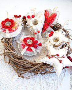 мк Christmas And New Year, Merry Christmas, Xmas Ornaments, Burlap Wreath, Shabby, Pastel, Wreaths, Holiday Decor, Diy
