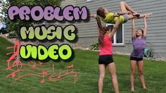 Problem Cheer and Gymnastics Music Video - YouTube